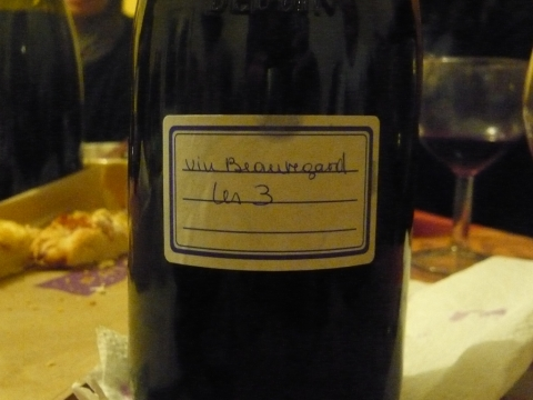 La mise en bouteille en automne 2011